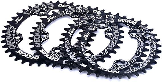Cadena estrecha y ancha Keenso 104BCD para bicicleta de monta/ña