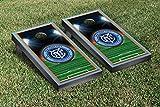 New York City MLS Soccer Cornhole Game Set Soccer Field Version 1