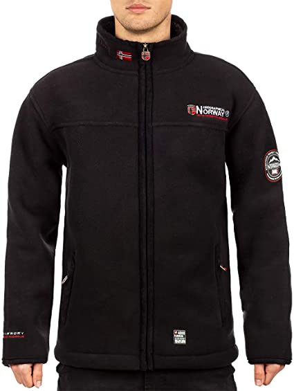 Geographical Norway Ulmaire Veste polaire chaude pour homme