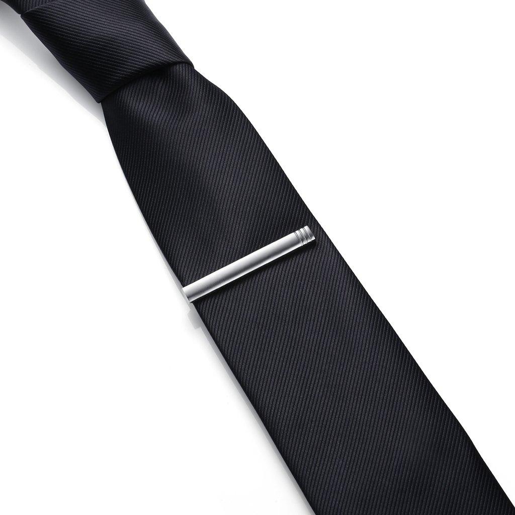 Hochwertig Herren Krawattennadel Krawattenklammer Tie Clip aus Edelstahl,MEHRWEG