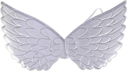 NUOBESTY Disfraz de ángel de Halloween para niños con alas de ...