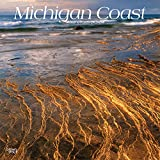 Michigan Coast 2020 12 x 12 Inch Monthly Square Wall Calendar, USA United States of America Midwest State Nature