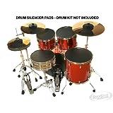 Drum Kit Silencer Practice Pads - ROCK SET - Drum Kit Mutes