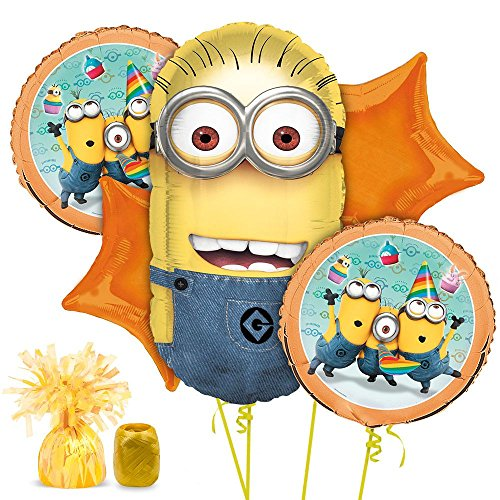 Costume Supercenter BBBK104 Despicable Me Balloon Kit (Evil Minions Halloween Costume)