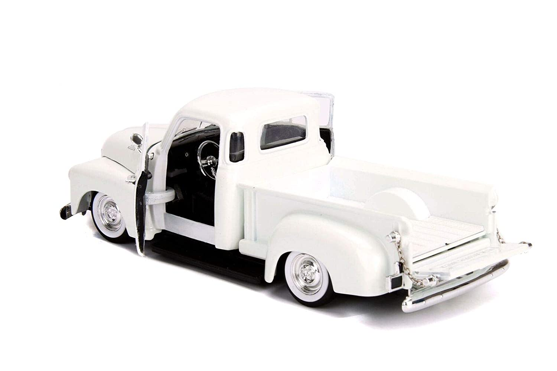 Las Vegas, Nevada Jada 1953 Chevrolet 3100 Pickup Truck White Custom Shop Classic Truck Just Trucks Series 1//24 Die-cast Model Car 99177 19935
