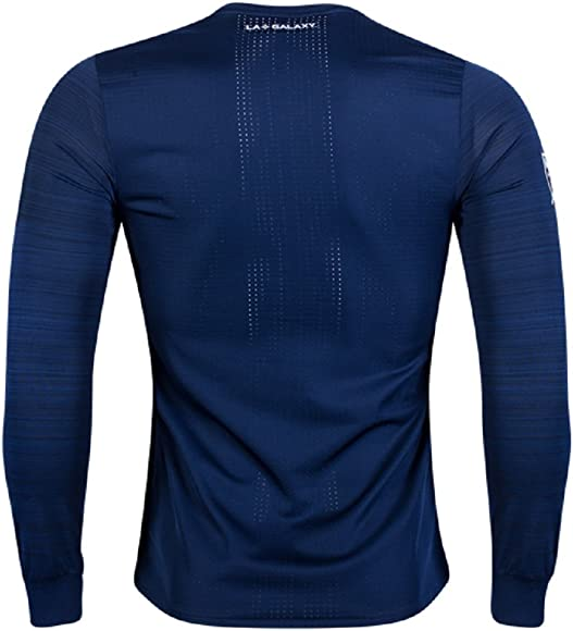 super popular 65479 6f037 2017-2018 LA Galaxy Long Sleeve Authentic Away Jersey (S)