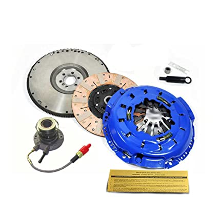 Amazon.com: EFT MF RACE CLUTCH KIT+SLAVE+HD FLYWHEEL 97-04 CHEVY CORVETTE C5 5.7L LS1 Z06 LS6: Automotive