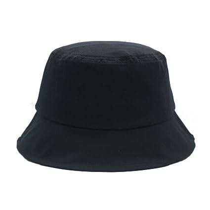JEDAGX Bucket Hat, Unisex Cotton Sun Hat Gorra de Playa Plegable Leisure Fisherman Fishing Hat, Colocación de Ropa, 58cm