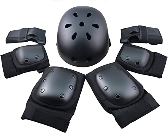 Elbow Wrist Knee Pads Sport Safety Protective Gear Guard for Kids Adult Skating