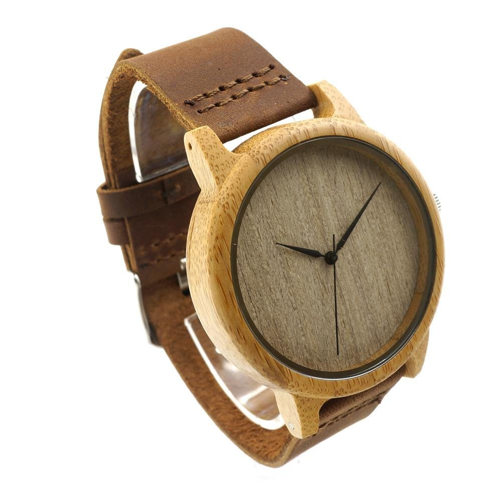 Taonology Famosa marca alta calidad Retro de madera del Reloj hombres mujeres Reloj del cuarzo Casual Reloj de Hombre Montre Femme Reloj Hombre Reloj con la ...