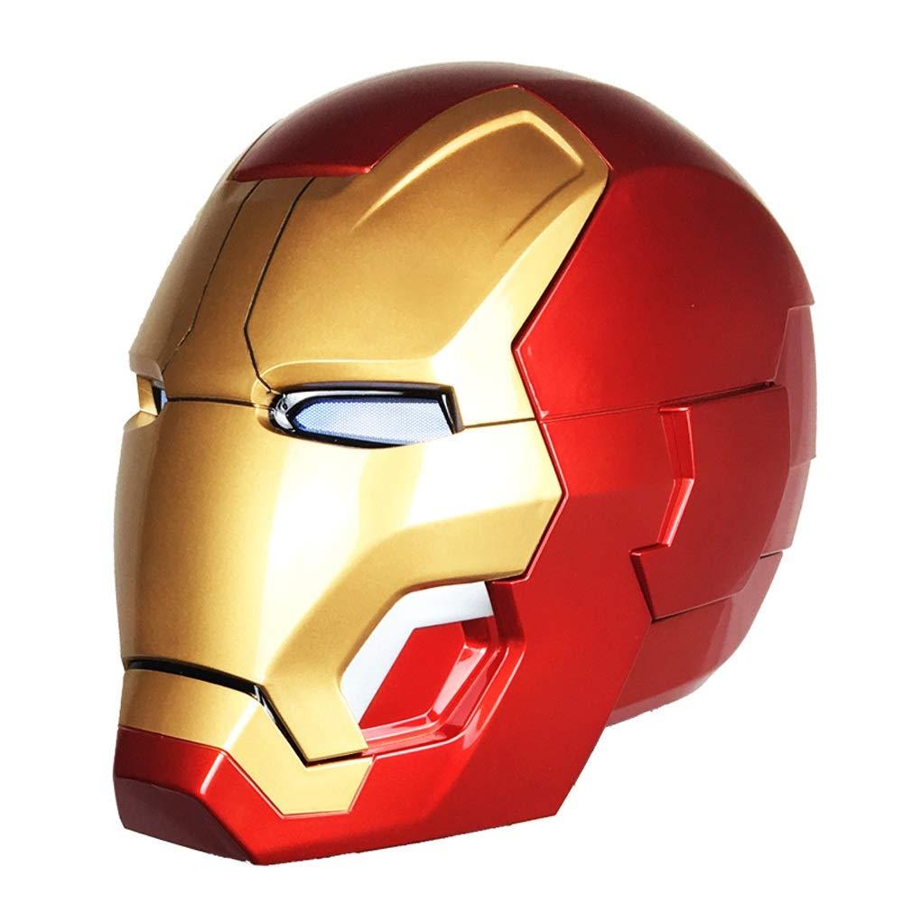 YIDIAN おもちゃ マーベルヒーロー1:1アイアンマンヘルメットMK42アーマートイアベンジャーズリアリティスケールモデルウェアラブル /& B07SCX8QM5