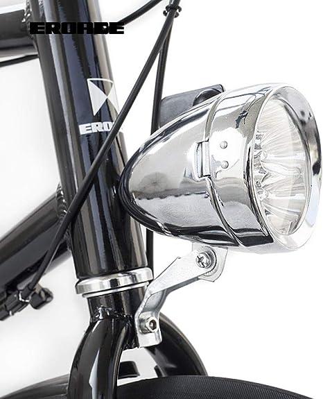 Daioy Luz Bicicleta Luz De Bicicleta Retro Faro Decorativo 7Led ...