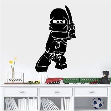 Wandaufkleber 3d Wandtattoo Kinderzimmer Neue Ninjago Lego Fur Kinder Boy Room Decor Kinderspielraum Lego Home Amazon De Baumarkt
