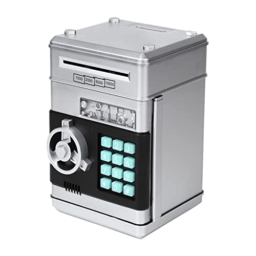 mikketa 貯金箱 お札 硬貨 マイパーソナル ダイヤルロック式