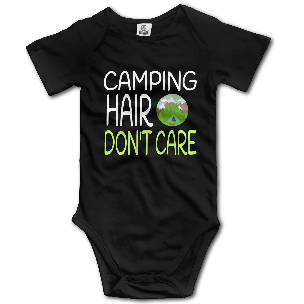 Camping Hair Dont Care3 Infant Baby Boys Girls 100/% Organic Cotton One-Piece Coverall 0-2T