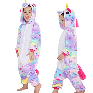 f0d03a62329a Yansion Unicorn Onesies Pajamas