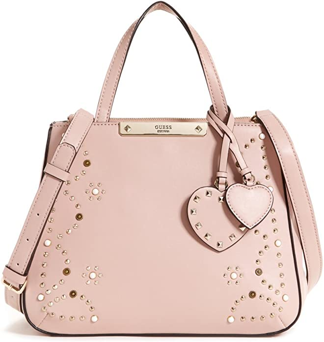 Guess Bags Hobo, Sac Messager Femme, Rose (Nude), 12x22.5x28.5 Centimeters (W x H x L)