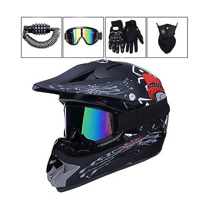 Amazon.es: MY1MEY - Casco de motocross para adultos, con ...