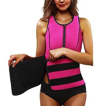 2317013c238 Neoprene Waist Trainer Elastic Corset - New Design Adjustable with Zipper  for Women Vest Hourglass Comfort