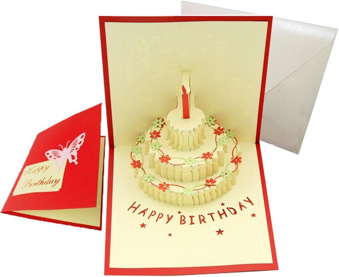 Pop Up Birthday greeting card