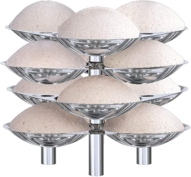 Hawkins Stainless Steel Idli Stand - 12 Idlis, (For 5 Litre and bigger Pressure Cooker), Silver (SSID5)