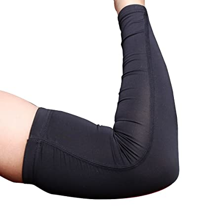 f90bf34a84 iLooper Arm Sleeves, Cover Arm Warmer Sports Unisex Arm Sleeves Compression  Cooling Arm Sleeve for