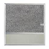 Broan BP57 Replacement Filter with Charcoal Pad and Light Lens for Range Hood Series 43000, 11-3/8 by 11-3/4-Inch, Aluminum