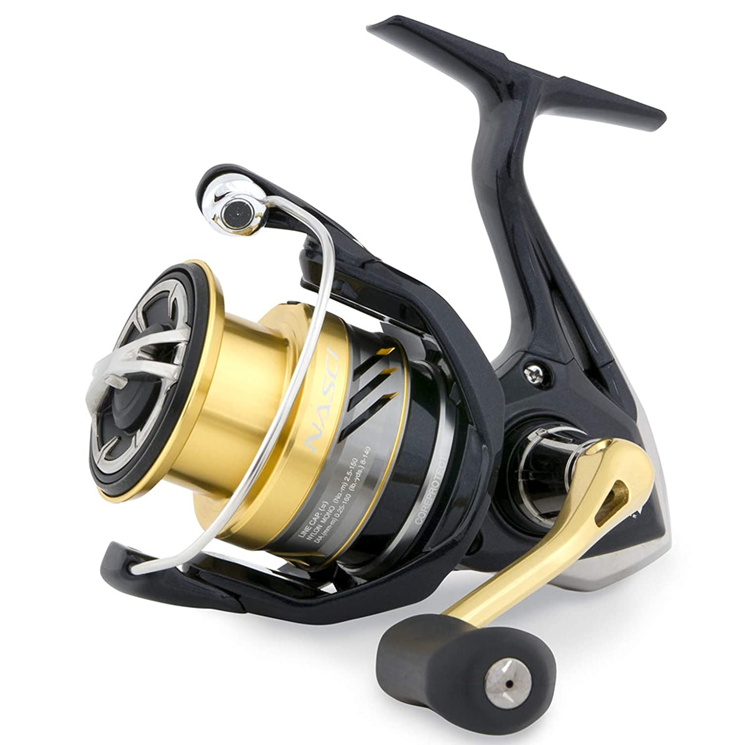 Shimano Nasci C 5000 XG FB, compact spinning fishing reel, model 2017 NASC5000XGFB