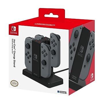 Hori Cargador para 4 mandos Joy-con Nintendo Switch: Amazon ...