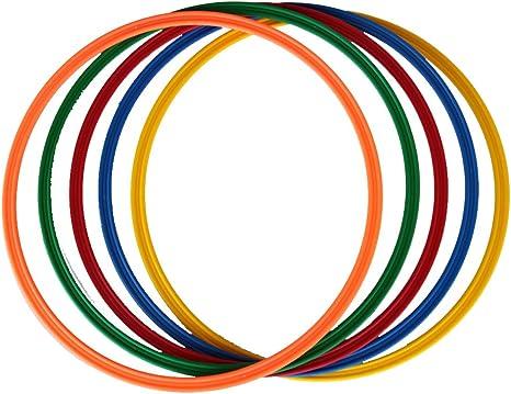 Set di 4 cerchi a sezione piatta 4 colori 40 cm /Ø ca