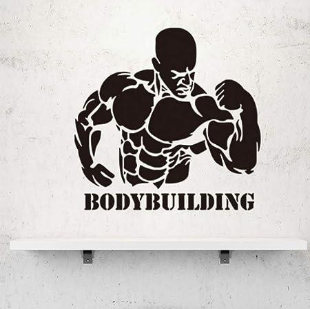shiyusheng Hombre musculoso/Etiqueta de la Pared para ...