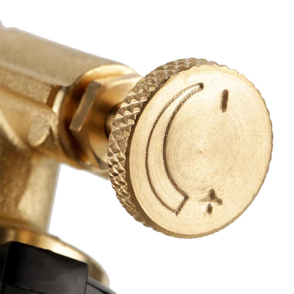 Amazon.com: Flame Gun, Professional Portable Brass Kitchen Cooking Gas Butane Culinary Torch Welding BBQ Flame Gun: Industrial & Scientific