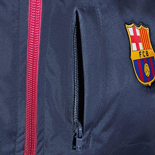 Buena FC Barcelona - Chaqueta cortavientos oficial - Para niño - Impermeable  - Estilo retro a2d11c1de6fce