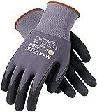 PIP 34-874/M Maxi Flex Ultimate 34874 Foam Nitrile Palm Coated Gloves, Gray, Medium (Pack of 12)
