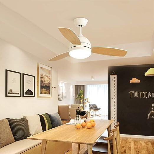 Macarons Ventilador de techo moderno con iluminación Control ...