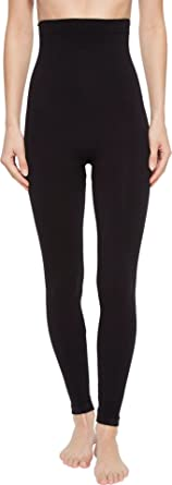 74015c53bfe57 SPANX Women's Look at Me Now High-Waisted Seamless Leggings Very Black  X-Small