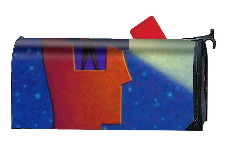 KSLIDS Shine Your Light Mailbox Makeover - Magnetism PVC Magnetic Cover by KSLIDS