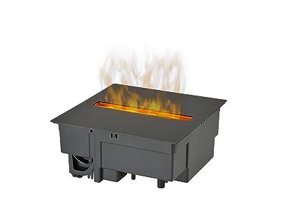 DIMPLEX Cassette 250 Built-in Fireplace Eléctrico Negro Interior - Chimenea (230 V,