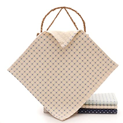crafeel bebé Toallitas Algodón washclothes dedo towels-6 paquetes