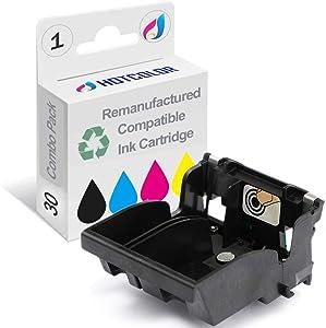 HOTCOLOR Re-Manufactured Ink Printhead Replacement for Kodak 30 for ESP 3.2 Kodak Hero 3.1 Kodak Hero 4.2 ESP 2150 ESP 2170 ESP C310 Series(1 Pack)