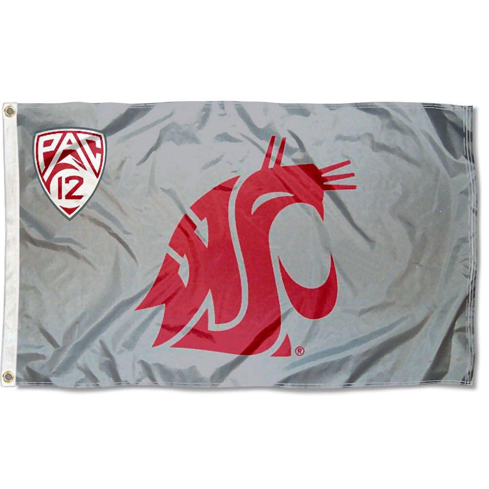 Washington State University PAC 12 Flag and Banner
