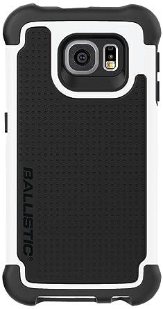 super popular d50bd 877a0 Ballistic Tough Jacket Case for Samsung Galaxy S6 in Black/White ...
