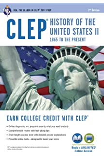 Clep history of the us i book online clep test preparation clep history of the us ii book online clep test preparation fandeluxe Gallery