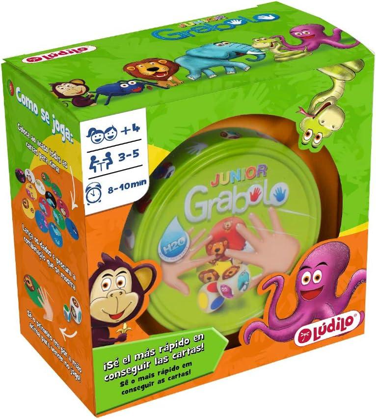 Grabolo junior, juego educativo para desarrollar observación y lógica, juego en familia (Lúdilo)