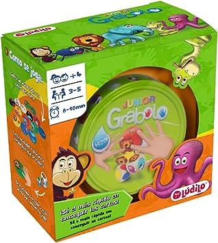 Comprar juego de mesa: Grabolo junior, juego educativo para desarrollar observación y lógica, juego en familia (Lúdilo)