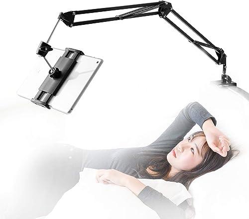 360 Degree Rotating Bed Tablet Mount Holder Stand - Best Tablet Holders for Bed