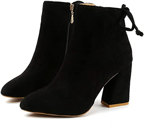 NanPing Classics Ankle Boots Kid Suede