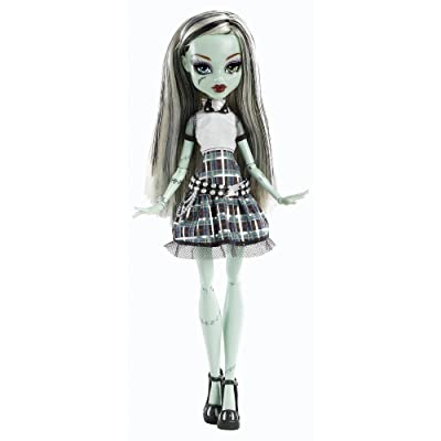 Monster High Ghouls Alive Doll - Frankie Stein: Toys & Games