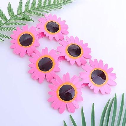 Decorative Daisy Flowers Box 20 Accessory For Tropical Hawiian Fancy Dress