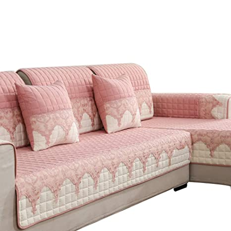 Amazon.com: Fundas de sofá acolchadas antideslizantes ...
